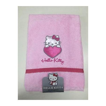 Set Bagno Hello Kitty.Gabel Hello Kitty Heart Set Asciugamani Bagno Spugna Rosa