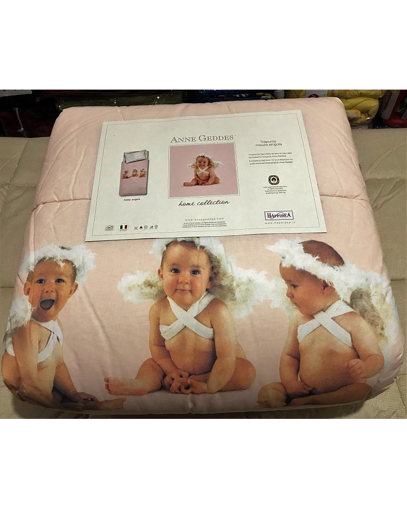 Trapunta Letto Singolo 1 Piazza Anne Geddes Dis Baby Angels Zambaiti